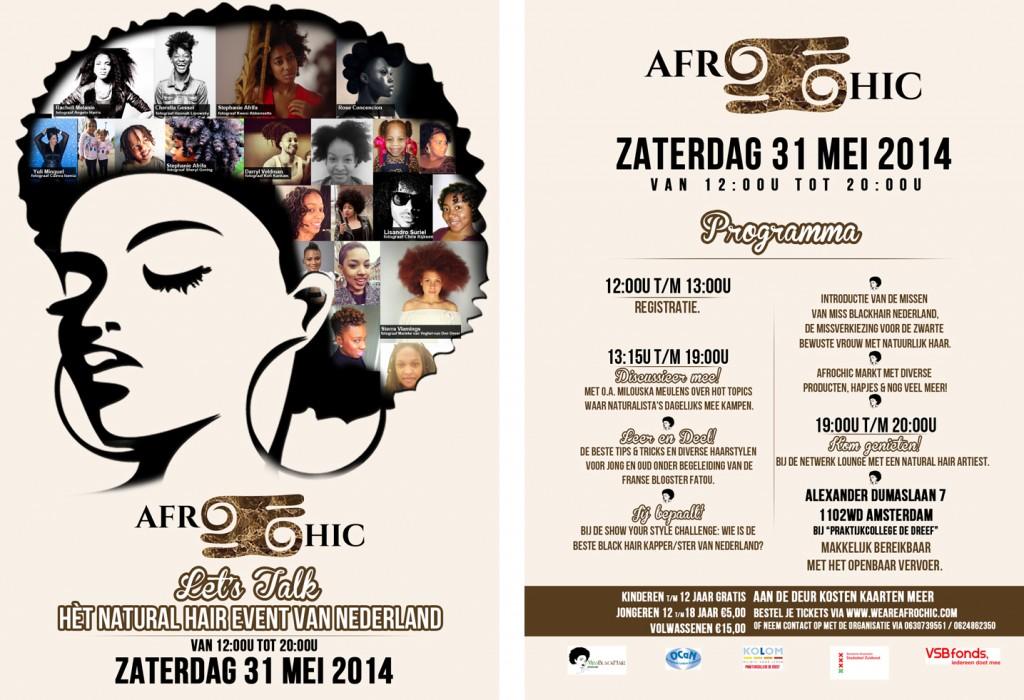 AfroChic 2014 Final Voor en Achterkant