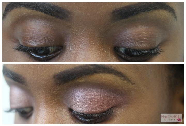 Max & More plain peach baked eye shadow